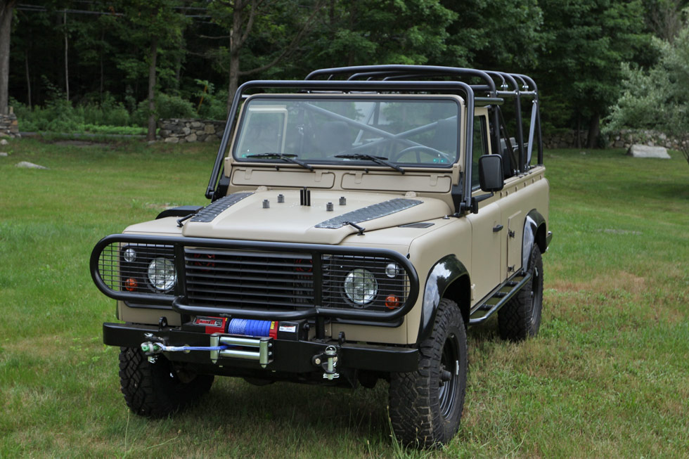 1986 Land Rover Defender Tithonus 110 NAO Expedition Package