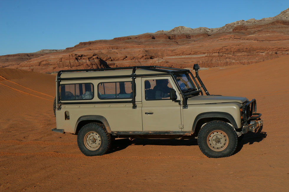 Land Rover NAO Expedition Package