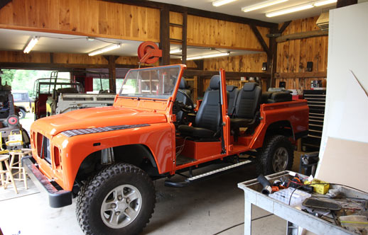 Get Your Vehicle Serviced with North America Overland